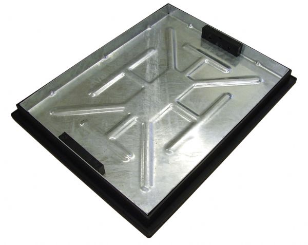 Clark Drain Recessed Manhole Cover - 600 x 450 x 46mm Locked and Sealed Unit T11G3